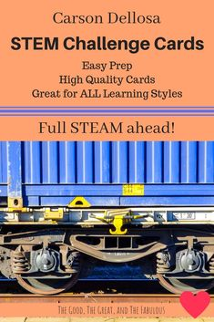 STEM cards to keep k