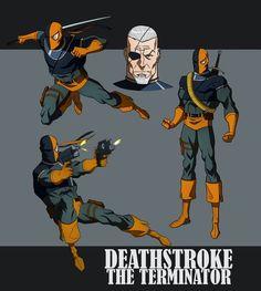deathstroke | DEATHSTROKE THE TERMINATOR ANIMATED by CHUBETO on deviantART