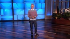"""Ellen's awesome response to the Abercrombie and Fitch policy changes - """"What you look like on the outside is not what makes you cool... at all.  I mean, I had a mullet and I wore parachute pants for a long, long time.  And I'm doing okay."""""""