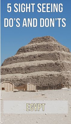 Our best tips and advice for traveling in Egypt.