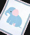 ELEPHANT Baby Afghan Graph Crochet Pattern *EASY