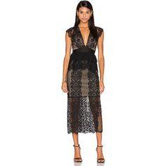 Three Floor Lace Affair Dress