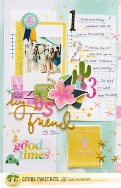 best friends full layout by Evelynpy
