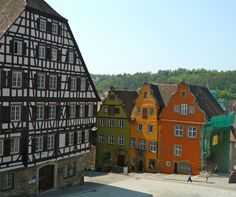 Schwaebisch Hall. A beautiful old town!