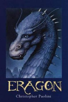 Eragon, a young farm boy, finds a marvelous blue stone in a mystical mountain place. Before he can trade it for food to get his family through the hard winter, it hatches a beautiful sapphire-blue dragon, a race thought to be extinct. Eragon bonds with the dragon, and when his family is killed by the marauding Ra'zac, he discovers that he is the last of the Dragon Riders, fated to play a decisive part in the coming war. #Books