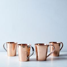 Hammered Copper Moscow Mule Mugs (Set of 2) on Food52