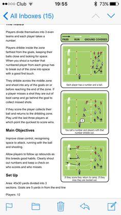 Football Training Drills, Soccer Drills, Kids Football, Kids Soccer, Fun Soccer Games, Soccer Workouts, Team Player, School Stuff, Coaching