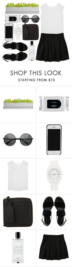 """Breathing"" by willneverdie ❤ liked on Polyvore featuring Potting Shed Creations, MAC Cosmetics, ZeroUV, Paule Ka, Nixon, Acne Studios, ASOS, Agonist and Aéropostale"
