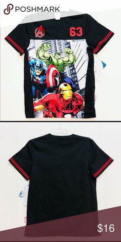 Cherokee scrubs top avengers size small Brand new with tags men's size small Cotton 42 % Polyester Spandex officially licensed product Cherokee Shirts Tees - Short Sleeve Cherokee Scrubs, Scrub Tops, Avengers, Tee Shirts, Spandex, Man Shop, Tags, Sleeve, Mens Tops