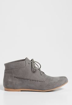 Haddie lace up shoe in gray (original price, $34.00) available at #Maurices