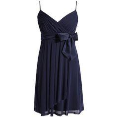 Kleid mit Satinschleife - Esprit