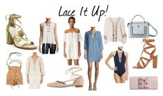 """Spring Trend '17: lace up"" by redress on Polyvore featuring J.O.A., Stuart Weitzman, Gianvito Rossi, rag & bone, Rebecca Minkoff, Perrin, Fendi, Cool Change, 10 Crosby Derek Lam and Seafolly"