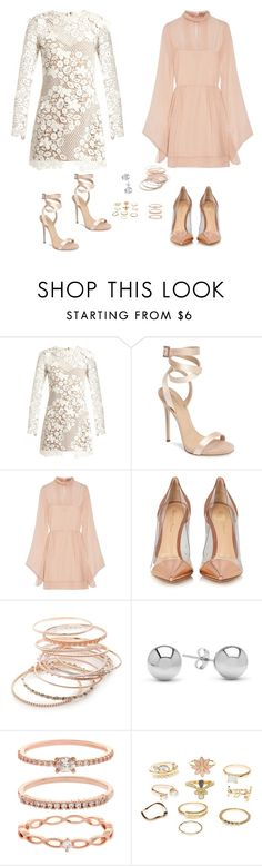 """Sin título #2159"" by lorena117 ❤ liked on Polyvore featuring self-portrait, Giuseppe Zanotti, Emilio Pucci, Gianvito Rossi, Red Camel, Jewelonfire, Accessorize and Charlotte Russe"
