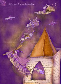 'Casita de Papel' ,Elsa Bornemann -  La casita de los versos es de papel y chiquita, pero allí cabe de todo lo que uno necesita... .