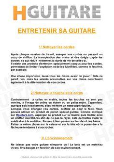 Conseils et Astuces #3 : Comment entretenir et nettoyer sa guitare ? Réponses par ici.