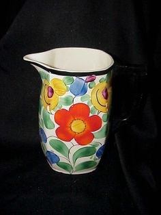 Vintage Bern Floral Pitcher by thebestofthepast on Etsy, $21.99