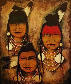 Antelope People - Kevin Red Star ~Via Drum Beat Native American Images, Native American Artwork, Native American Beauty, Native American Artists, American Indian Art, Native American History, Native American Indians, Crow Indians, San Francisco Art