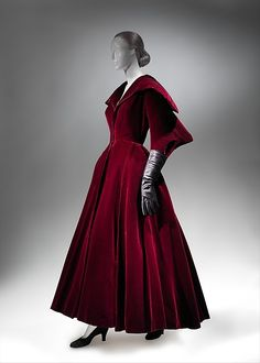 Evening coat Designer: Charles James (American, born Great Britain, 1906–1978) Date: 1949 Culture: American Medium: silk