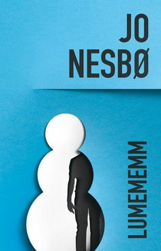 """Book covers and titlepages illustrated by Eiko Ojala for Jo Nesbo """"Lumememm""""."""