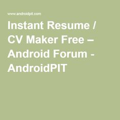 ideas about free resume maker on pinterest resume maker ideas about free resume maker on pinterest - Fast Resume Builder