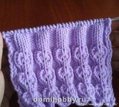 Красивый узор из спущенных петель сердечками. Knitting Patterns, Blanket, Lace, Knitting Stitches, Dots, Moss Stitch, Knitting, Knit Patterns