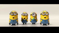 Despicable Me 2 | Minions Banana Song (2013)  Bananaaaaaaaaaa... potatooooooooooo...