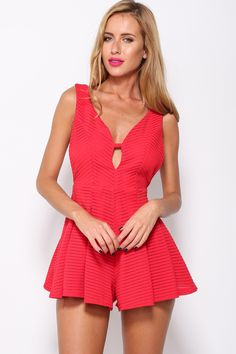 Holiday Playsuit, Red, $59 + Free express shipping http://www.hellomollyfashion.com/holiday-playsuit-red.html
