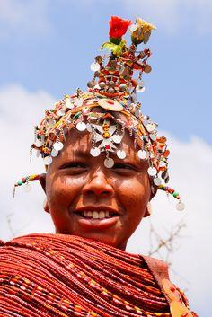 Africa |  Rendille Woman.  Marsabit, Kenya | © Rita Willaert