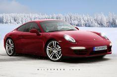 Porsche 911 red