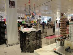 Sugar Factory at the Paris Hotel in Las Vegas - right on the strip - is the BEST candy store I've ever seen - and sweet owners