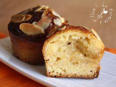 Mini Muffins Amandine Coeur de Poire (et Vacances !)