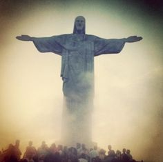 Cristo Redentor. Rio de Janeiro, Brazil (my dream is to see this in real life one day)