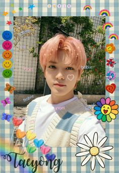 Polaroid Decoration, Kpop Diy, Aesthetic Pastel Wallpaper, Lee Taeyong, Diy Stickers, Kpop Aesthetic, Nct Dream, Nct 127, Cute Wallpapers
