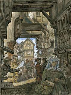 Peter Jackson - Shopping on Ye Old London Bridge