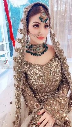 Party Wear Indian Dresses, Pakistani Dresses Casual, Pakistani Bridal Wear, Pakistani Dress Design, Bridal Dresses, Sabyasachi, Lehenga, Bridal Makeover, Afghan Dresses