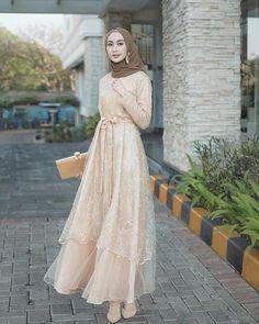 Kebaya Modern Hijab, Kebaya Hijab, Kebaya Dress, Dress Pesta, Dress Brokat Muslim, Dress Brokat Modern, Kebaya Muslim, Muslim Gown, Hijab Gown