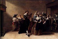A Merry Company 1632 - Anthonie Palamedesz