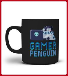 Penguin Gamer Mug - Pinguin shirts (*Partner-Link)