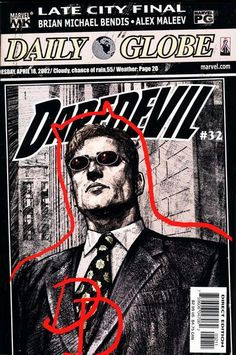 Start spreading the news: Matt Murdock is Daredevil! (In other news: Jonah smacks Urich for not getting this news first!)