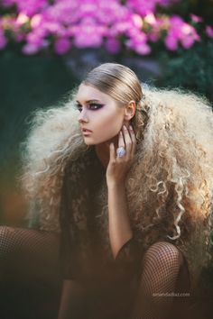 Amazing Blond Hair Danielle by *Amanda-Diaz