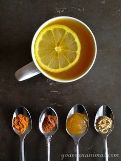 Turmeric tea - for when you're feeling a cold coming on or you need something extra to boost your immune system