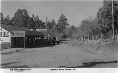 Shaun Kenaelly: Olinda: Mernda Road Melbourne Suburbs, Melbourne Victoria, Vintage Photographs, Historical Photos, Past, Australia, In This Moment, History, Country