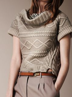 Burberry Prorsum I would love to wear this everyday style. Classy, yet casual