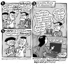 Mice Cartoon, Komik Jakarta 27 Desember 2013: Kerja Dimana