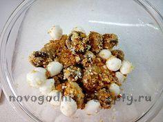 смешать моцареллу и грибы Cereal, Breakfast, Food, Meal, Eten, Meals, Breakfast Cereal, Corn Flakes, Morning Breakfast