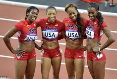 Thanks girls! Team USA tops Olympic medal table with 46 golds and 29 were from the women.