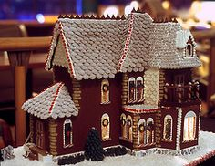 Wow... Victorian Gingerbread house... cool!