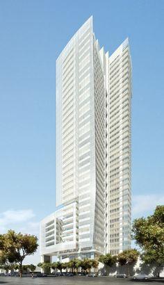 Taichung Condominium Tower, Taiwan, 163 m, UC, architect-Richard Meier & Partners Architects