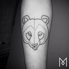 oso tatuajes de Mo Ganji