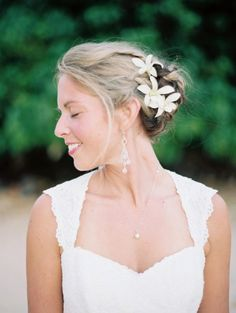 Photography by wendylaurel.com    Hello wedding hair